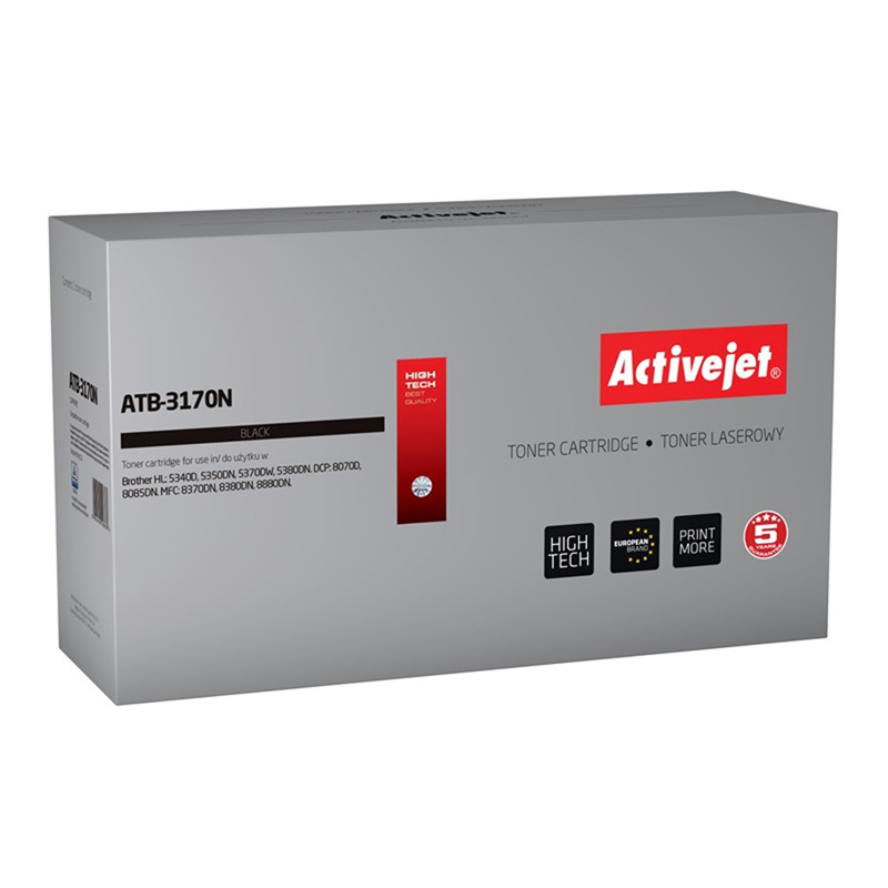 Activejet TONER pentru Brother TN-3170 new ATB-3170N
